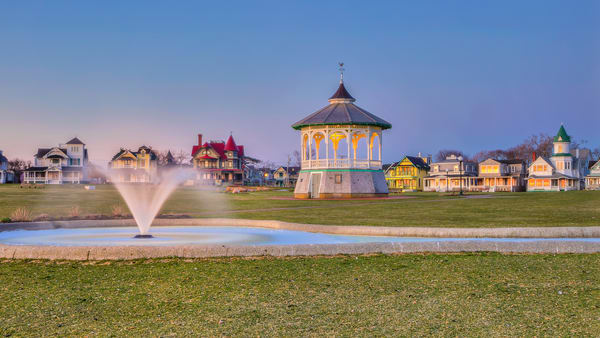 Oak Bluffs Daylight Fountain Art | Michael Blanchard Inspirational Photography - Crossroads Gallery