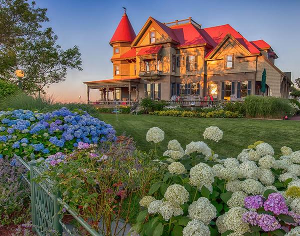 Norton House Summer Sunset