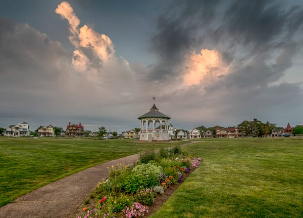 Bandstand Fourth Of July Art | Michael Blanchard Inspirational Photography - Crossroads Gallery