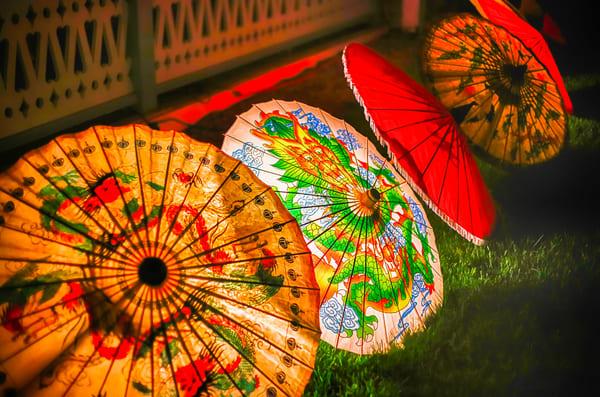 Illumination Umbrellas Art | Michael Blanchard Inspirational Photography - Crossroads Gallery