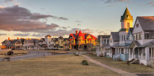 Ocean Park Fall Sunset Art | Michael Blanchard Inspirational Photography - Crossroads Gallery