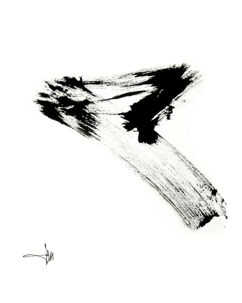 "WW-Paper-BW-16x20""-Zen #7"