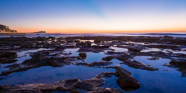 Cowrie Hole Sunrise - Newcastle Ocean Baths Newcastle NSW Australia