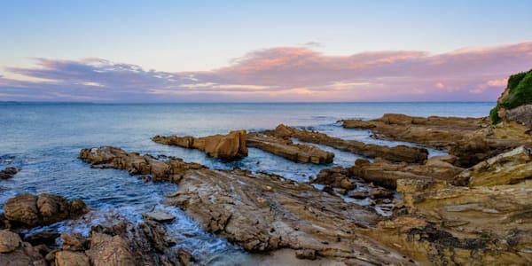 Stone Sunset - Bermagui NSW Australia
