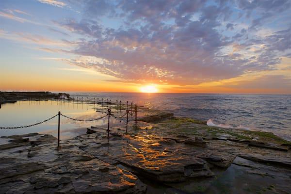 Sunrise at The Bogey - The Bogey Hole Newcastle NSW Australia