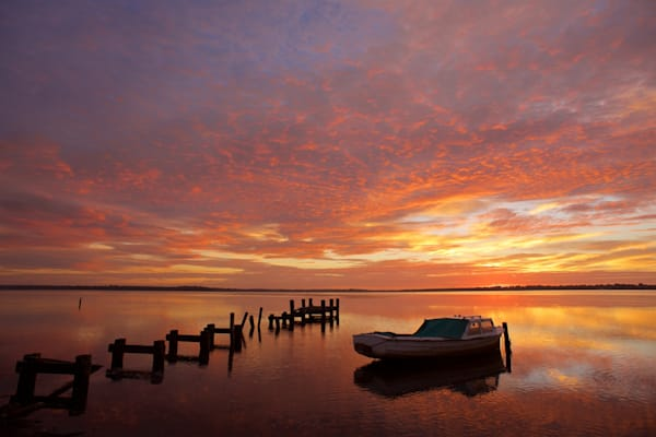 Anzac Sunrise - Budgewoi Lake NSW Australia