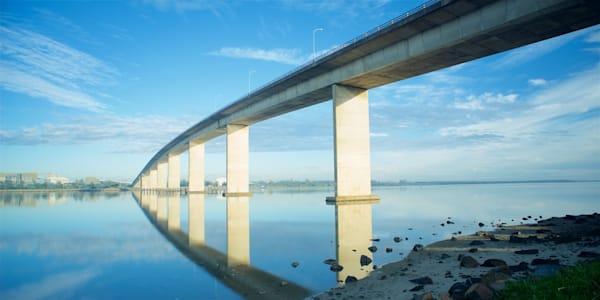 Reflected Overpass - Stockton Newcastle NSW Australia