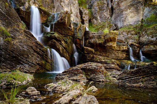 Cave Creek Falls - Blue Waterholes Kosciuszko National Park NSW Australia