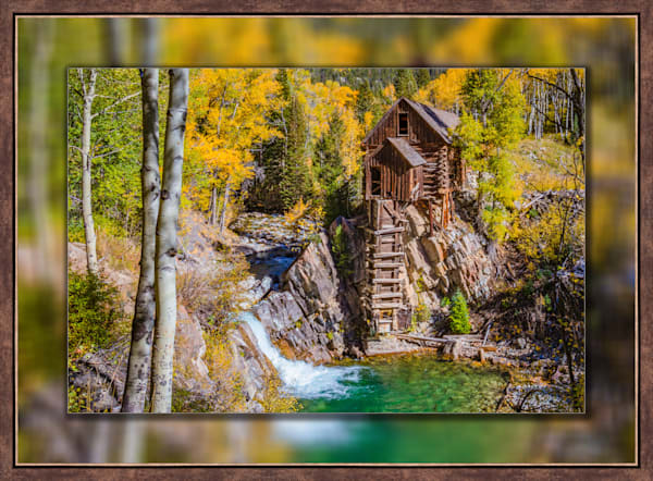 Crystal Mill - The Old Mill 3d  Bronze Narrow