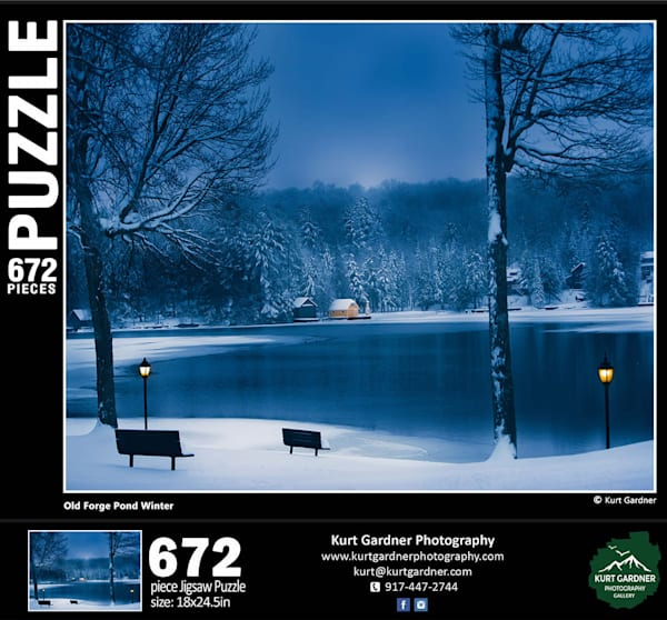 Old Forge Pond Winter Pre Order