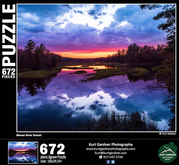 Pre Order Moose River Sunset | Kurt Gardner Photogarphy