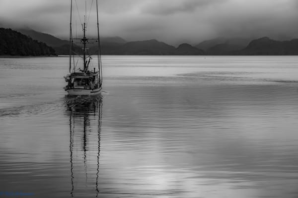 First Fisherman out of the Harbor F/V Woodstock Sitka, AK