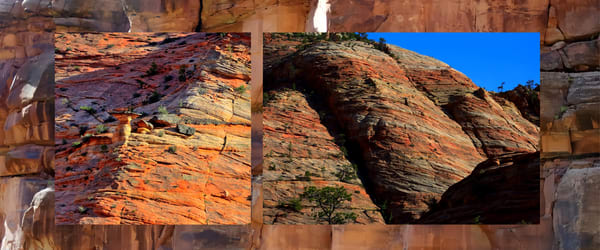 Zion Wall Collage