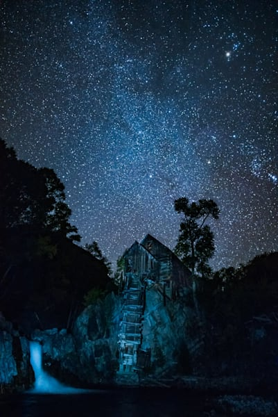 Crystal Mill And Stars Art | Casey Chinn Photography LLC