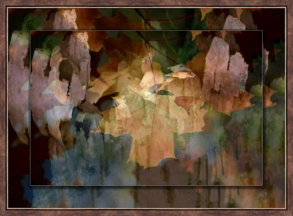Abstract  3D Bronze Narrow