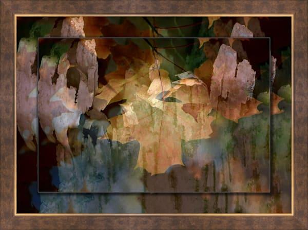 Abstract  3D Bronze Wide