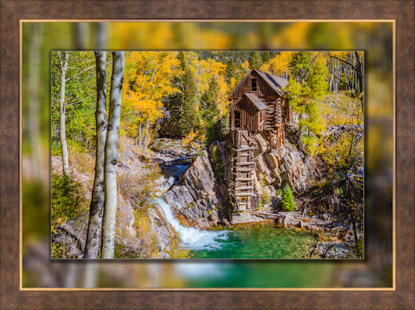 Crystal Mill - The Old Mill H 3d  Bronze Wide