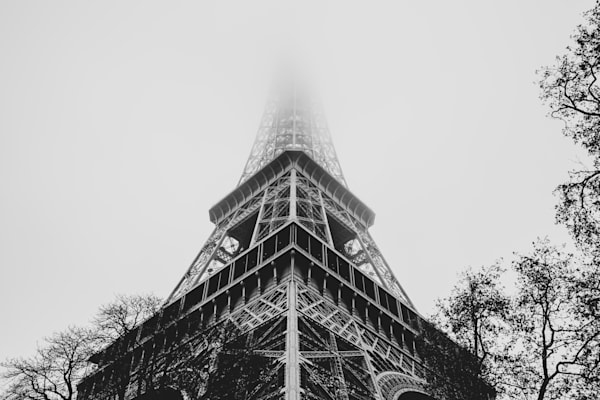 Eiffel In The Mist Photography Art | Nathan Larson Photography, LLC