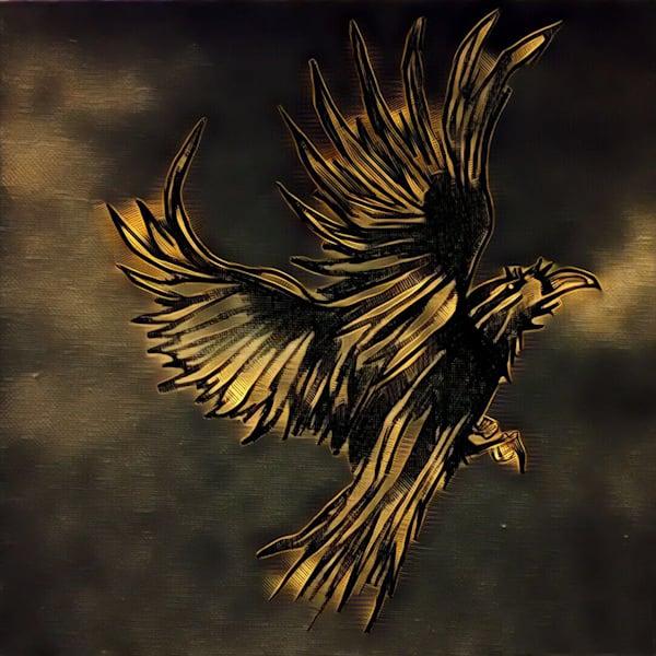 Gold Crow