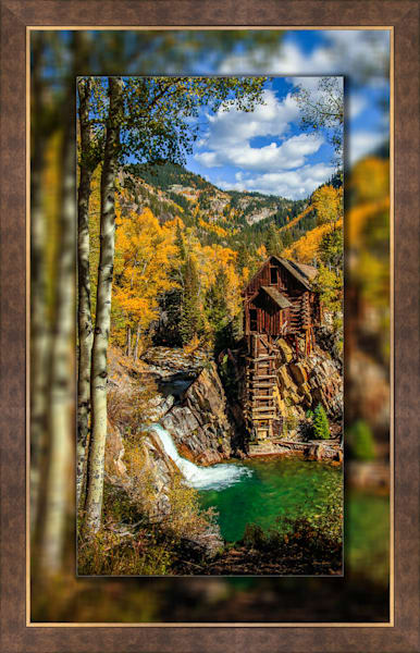 Crystal Mill - The Old Mill Pano V 3D Bronze Wide