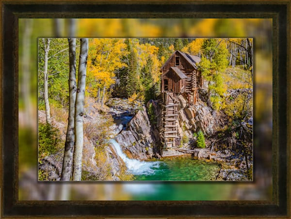 Crystal Mill - The Old Mill 3d  H Leather