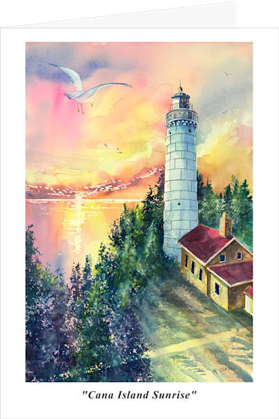 Fine art greeting cards by painter Robert Olson.