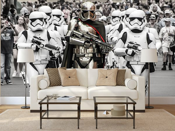 Stormtroopers March - Disney Wall Murals | William Drew