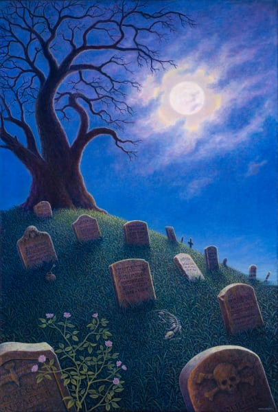 Resting in Peace Custom Print