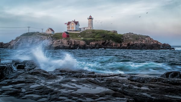 Nubble Light Photography Art   Will Nourse Photography