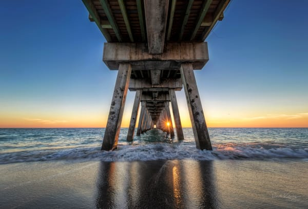 Venice Fishing Pier Fine Art