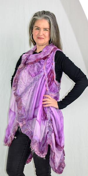 Lilac Vest Art | FeltinArt