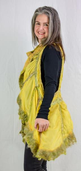 Yellow Vest Art | FeltinArt