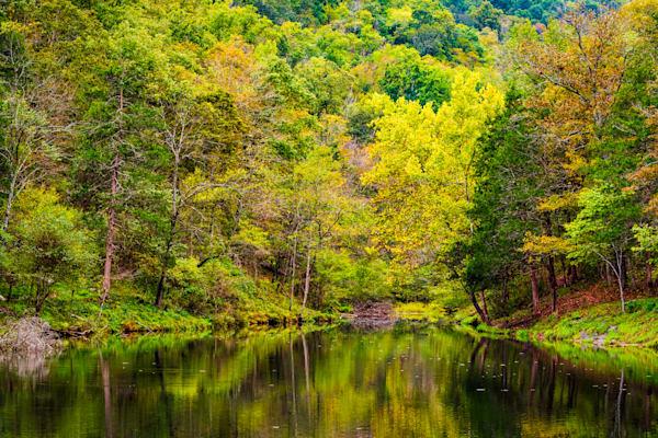 Mirror Lake at Blanchard Springs photography