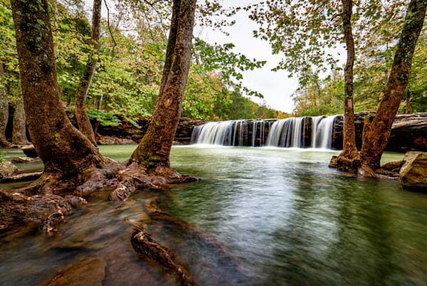 Falling Water Falls Ozark Mountains photography