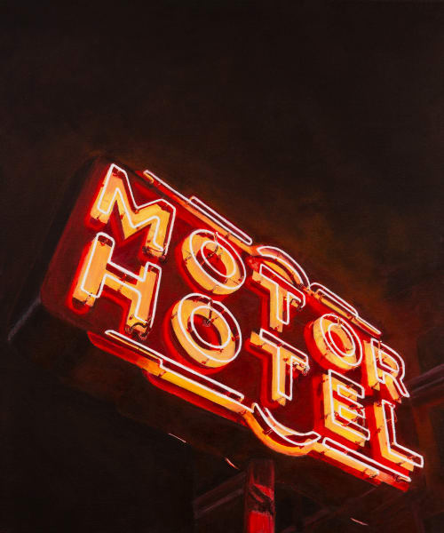 Motor Hotel Photography Art by theshanegallery