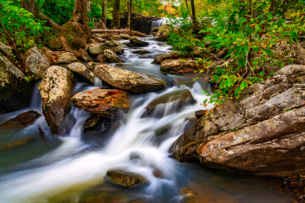 Falling Water Creek Ozark Mountains photography