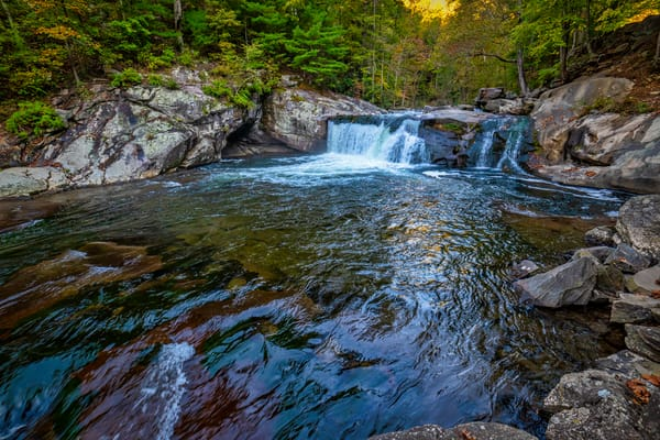 Tellico River Baby Fall pool photography