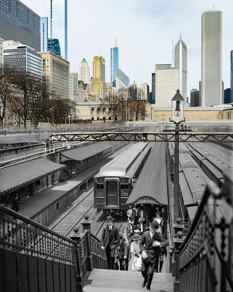 Arriving From The Suburbs Photography Art | Mark Hersch Photography