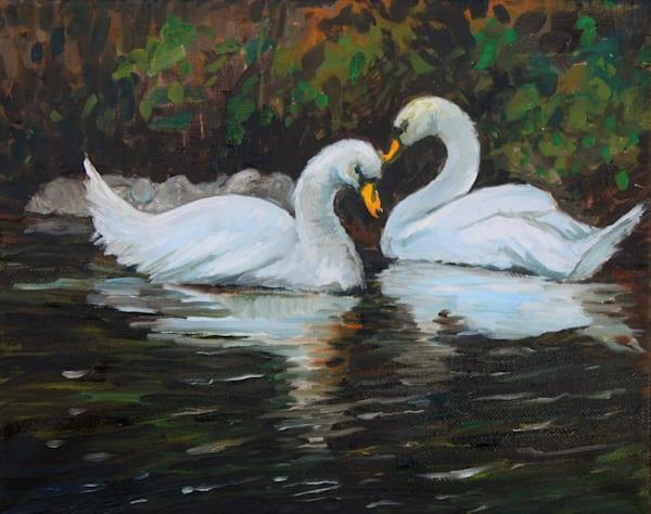 Swans Fine Art Open Edition Print