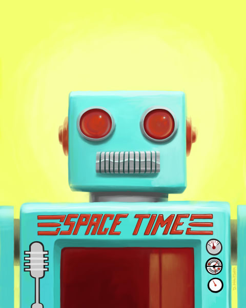 Space Time Robot