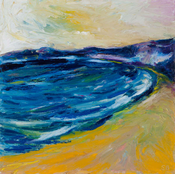Dark Water Yellow Sky - Prints