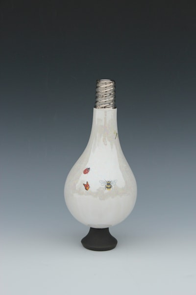 Small Light Bulb Vase Multiple Insects | Gerard Ferrari LLC
