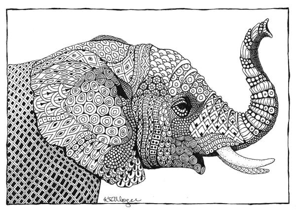 Trumpeter (African Elephant)