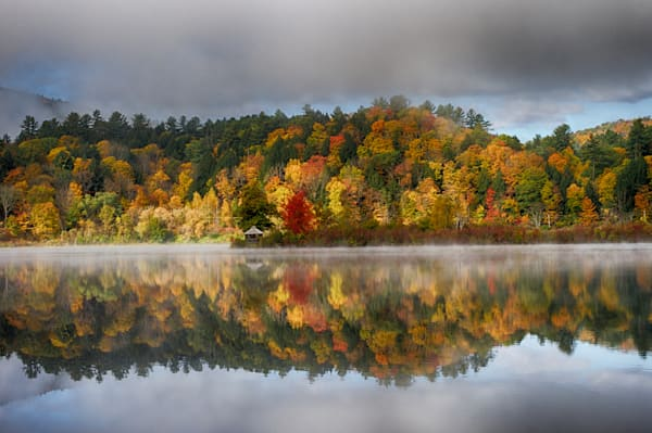 Fall In Vermont At Paradise Park Photography Art | Nathan Larson Photography, LLC