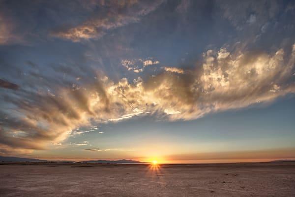 Salt Flat Sunset I