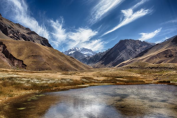 The Approach to Aconcagua in Argentina