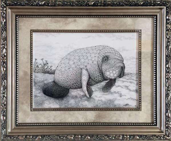 "Manatee Art by Kristin Moger ""Seriously Fun Art"""