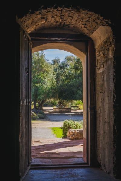 La Purisima Mission Doorway view