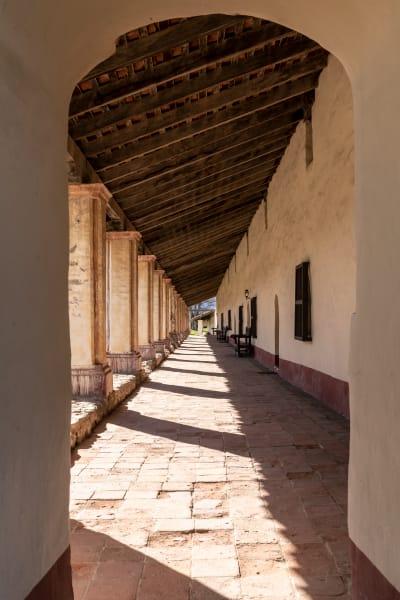 La Purisima Mission hallway