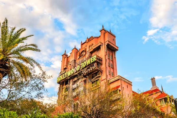 The Hollywood Tower - Tower of Terror Pictures | William Drew Photography